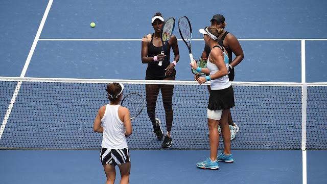 US Open 2020 duplas femininas women's doubles