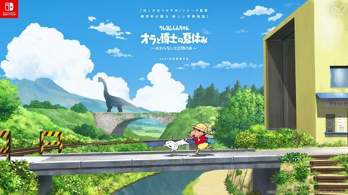 Shin Chan tendrá un nuevo videojuego para Nintendo Switch este 2021