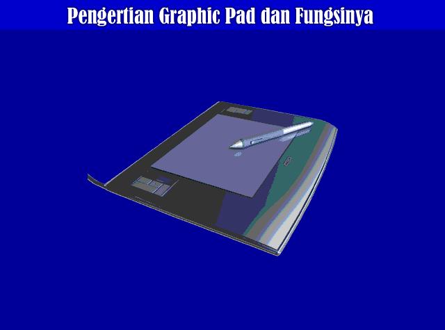 Pengertian Graphic Pads, Fungsi Graphic Pads dan Cara Kerja Graphic Pads