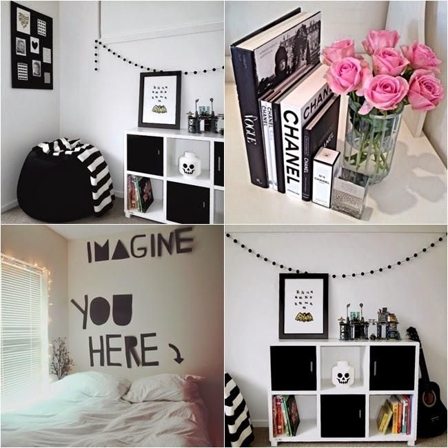 Unicórnia Distraída Inspiração Quarto estilo Tumblr ~ Quarto Romantico Tumblr