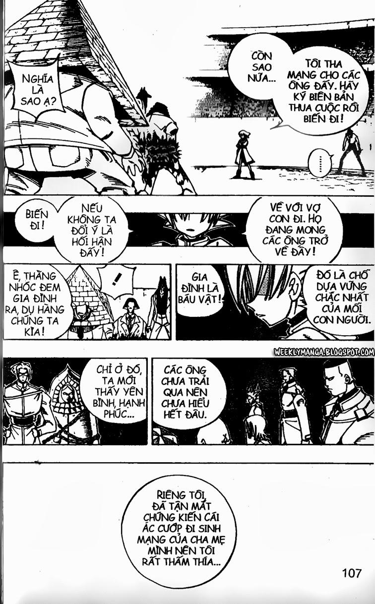 Shaman King [Vua pháp thuật] chap 122 trang 7