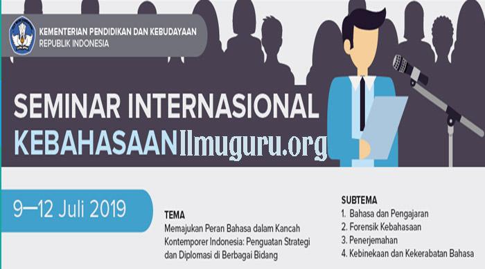 Seminar Kebahasaan 2019