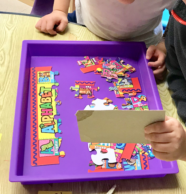 trays for jigsaw puzzles