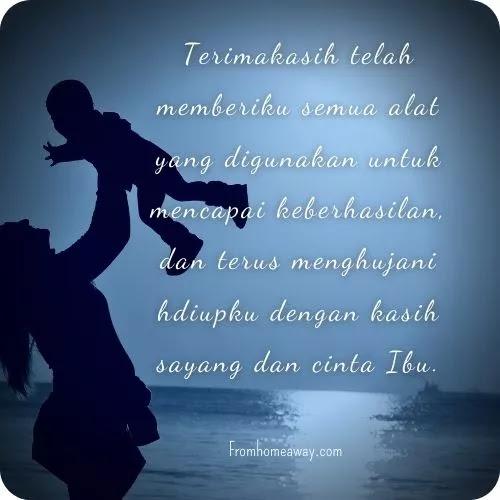 Ucapan cinta kepada ibu