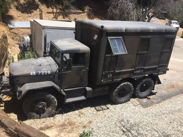 This Is One Bad Ass Military Truck That Has Been Converted Into A Furnished Camper Go Off Roading And Camp In The Middle Of No Where Boy