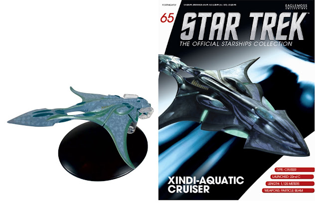 Textilien & Merchandising Star Trek 2019 Neuestes Design Star Trek Eaglemoss Starship Collection Voth Stadtschiff Ausgabe #70 2019 Offiziell