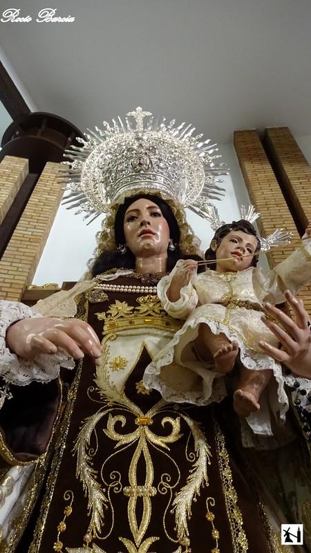Horario e Itinerario Rosario vespertino con la imagen de Nuestra Señora del Carmen de San Pablo de Sevilla este Sábado