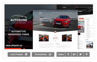 Download Theme Wordpress Automotive Car Dealer And Rental