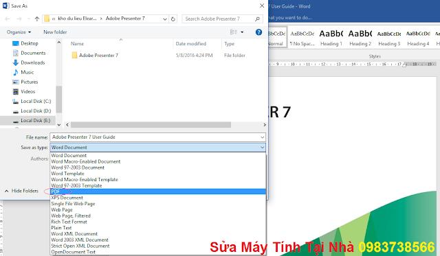 Chỉnh sửa PDF trong Word - H04