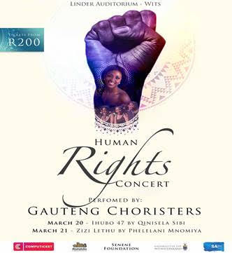 Human Rights Concert poster