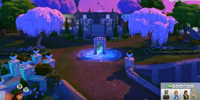 cheat to become a spellcaster sims 4