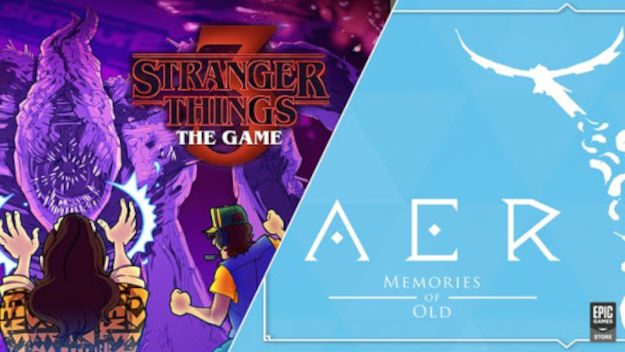 AER και Stranger Things 3 τα δωρεάν games