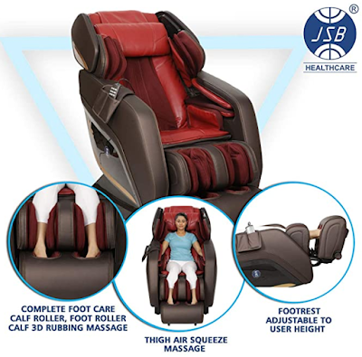 JSB MZ22 Heavy Duty Full Body Massage Chair for Home Pain Relief