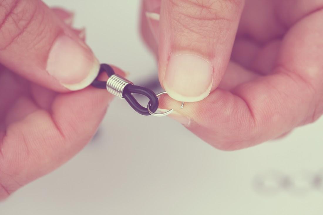 Tutorial cordón étnico para gafas