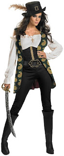 Women's Pirates Of The Caribbean - Angelica Deluxe Adult Costume