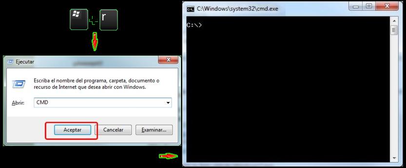configurar puertos emule windows 7