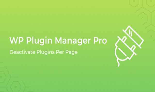 تحميل اضافة WP Plugin Manager Pro 1.0.4 مجانا