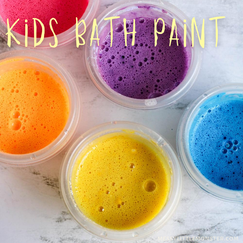 kids bath paint