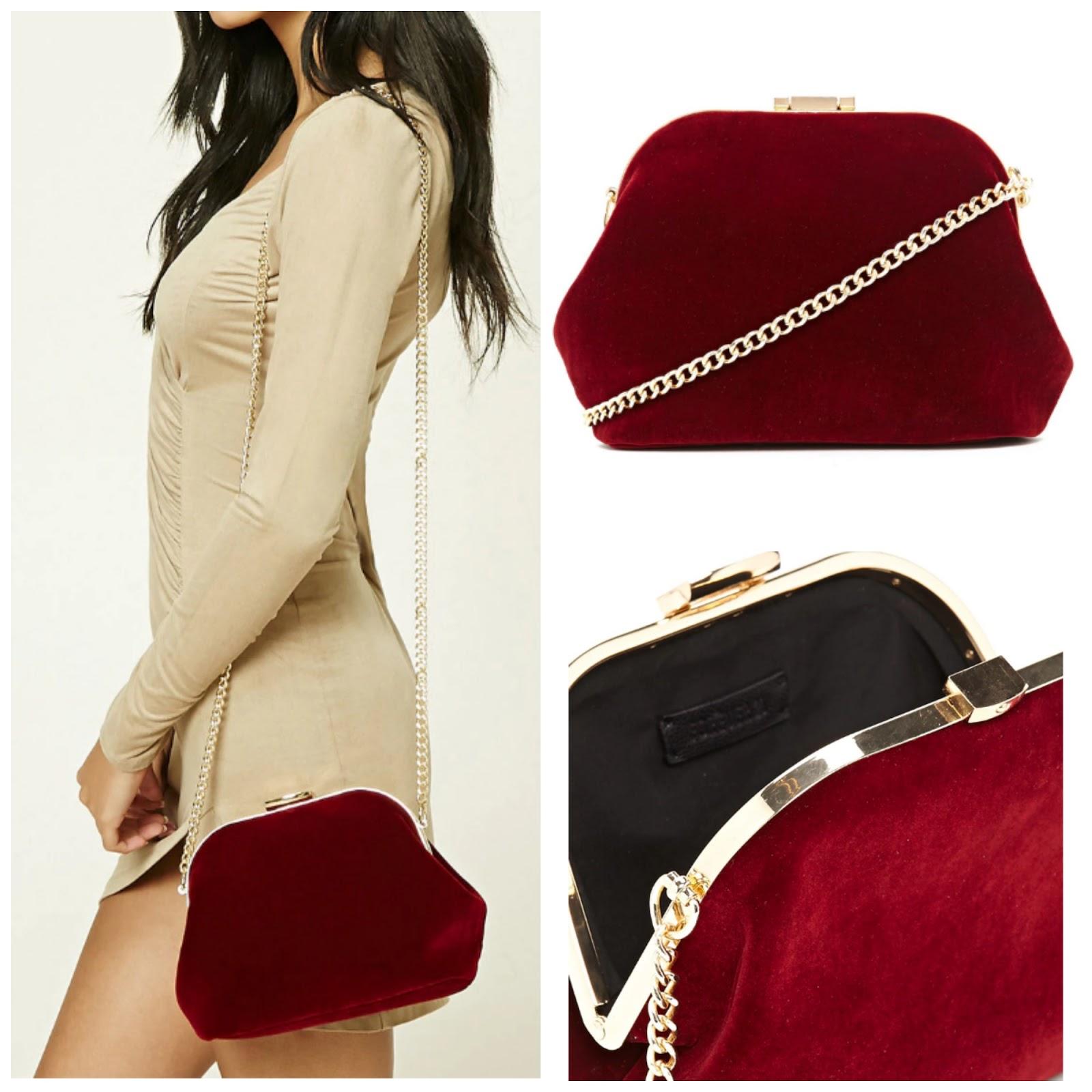 Velvet Bags Under $50