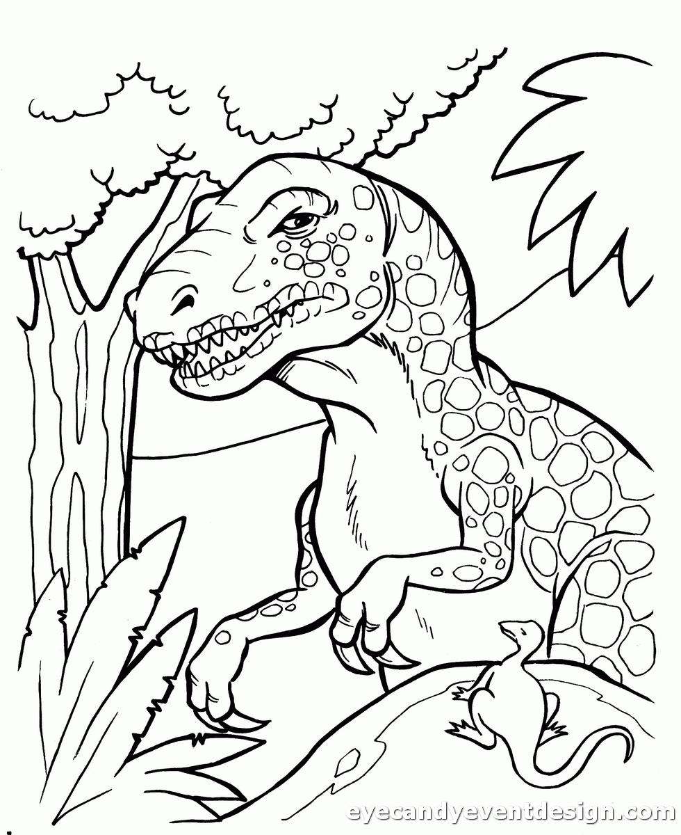 Dinosaurier Bilder Ausmalen