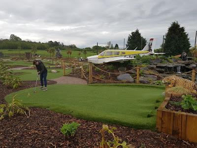Jungle Safari Adventure Golf at Ravenmeadow Golf Centre in Worcester