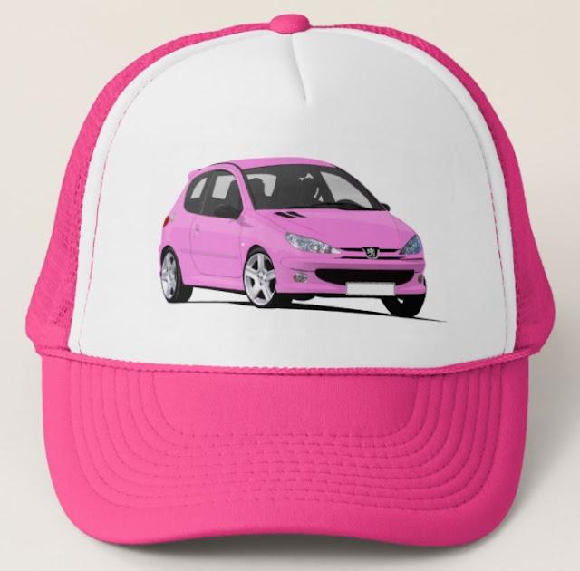 Peugeot 206 GTi trucker hat
