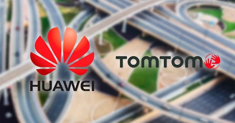 Debido a las sanciones de Estados Unidos, Huawei recurrió a los mapas de Tom Tom