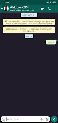 Pernahkah kalian dikirimi pesan kosong di whatsapp √  2 Cara Mengirim Pesan Teks Kosong Di WA / Whatsapp Tanpa Aplikasi