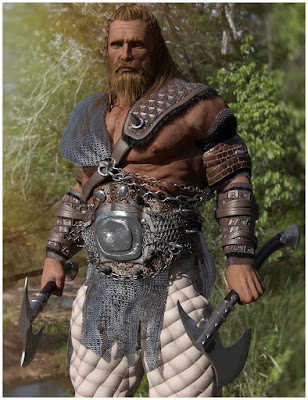 Uber+ Iray Medieval Armor Shaders