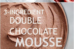 3- Ingredient Chocolate Mousse (Low Carb)