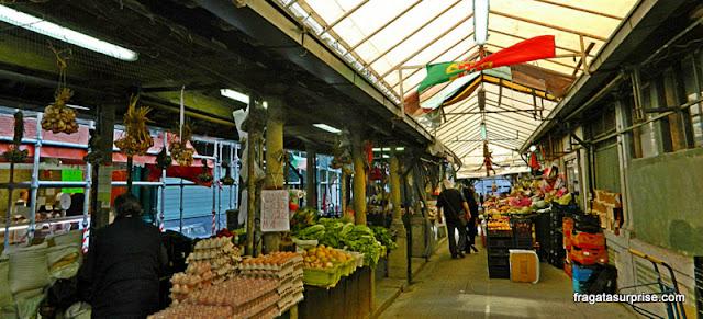 Barracas do Mercado do Bolhão, Porto, Portugal