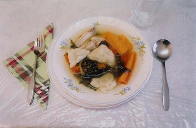 Chicken Soup with Kreplach
