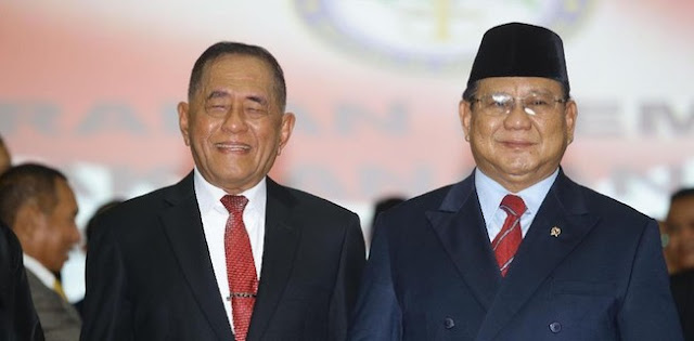 Puji Ryamizard, Prabowo: <i>Old Soldiers Never Die And They Are Never Fade Away</i>