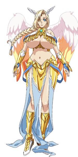 Sakura Nakamura como Sariel (Generosidad), enemiga de Avaricia