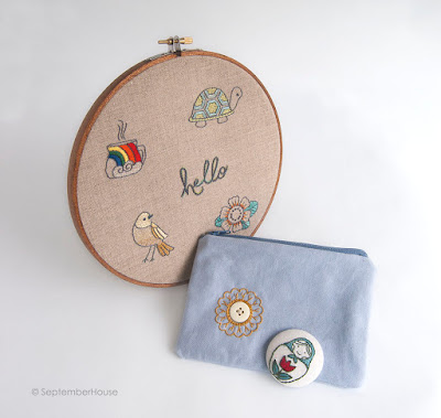 Mini Embroidery Pattern Collection by SeptemberHouse
