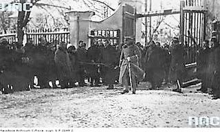 Wizyta Józefa Piłsudskiego w Nieświeżu Radziwiłłów