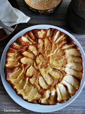Tarta de manzana sin azúcar