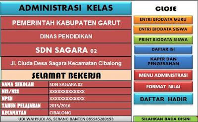 Download Aplikasi Administrasi Kelas Terbaru Lengkap