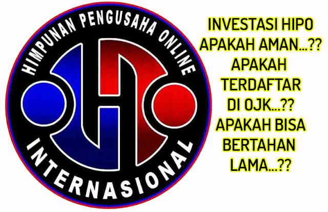 √ Investasi HIPO Apakah Aman, Apa Terdaftar di OJK ? Saya ...