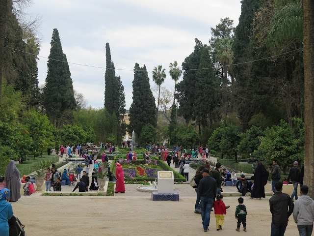 Jardines Jnane Sbil –jardines de Boujeloud-