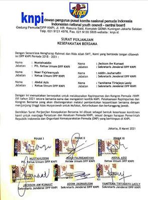 3 Kubu KNPI Siap Rekonsiliasi, Komitmen Laksanakan Rapimpurnas dan Kongres KNPI
