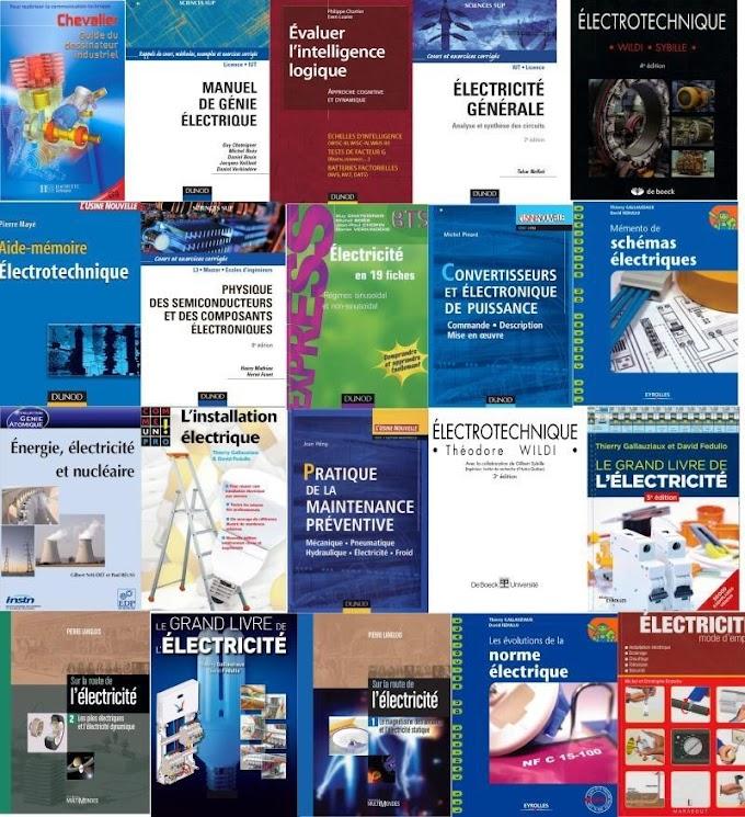 PackLivres d'Electrotechnique et Electricité PDF