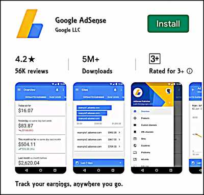 Adsense official Android App For Youtubers