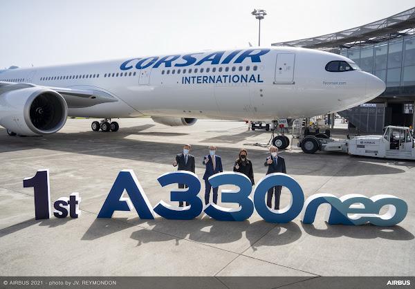 Corsair recebe o seu primeiro A330neo
