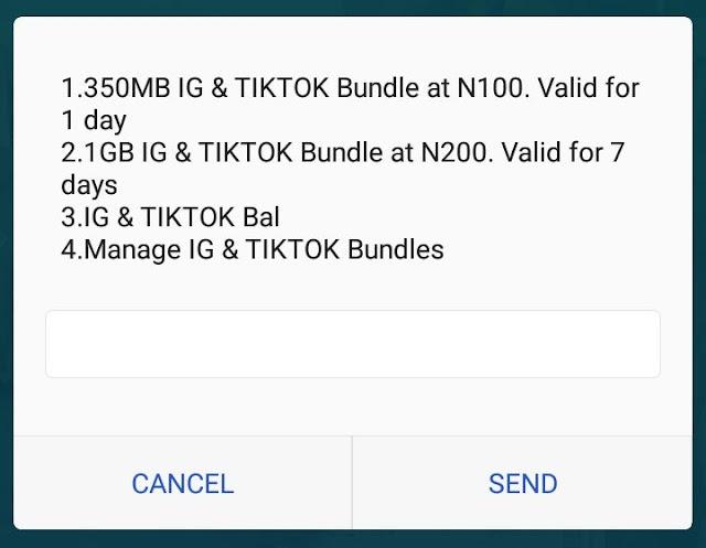 MTN TikTok/Instagram Bundles - Get 1GB for N200 (Latest)