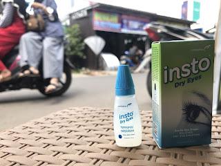 Cegah Mata Pegel saat Perjalanan Jauh dengan Insto Dry Eyes