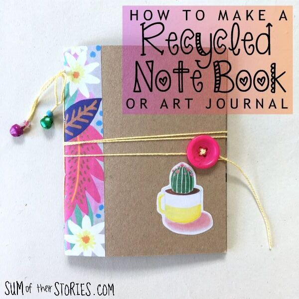 How to Make a Recycled Notebook