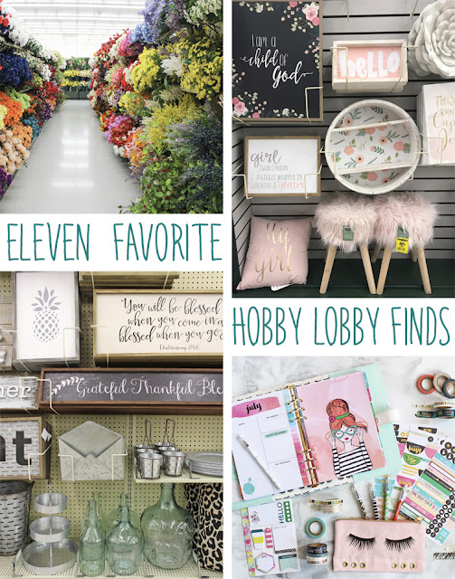 11 Favorite Hobby Lobby Finds