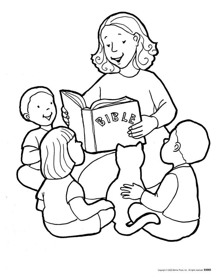 Gambar Mewarnai Anak Kristen Wartisen