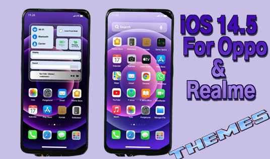 Download Tema iOS 14.5 Terbaru Untuk Oppo ColorOs 5, 6, 7 dan Realme
